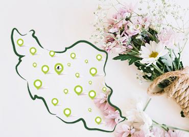 ارسال گل به ایران