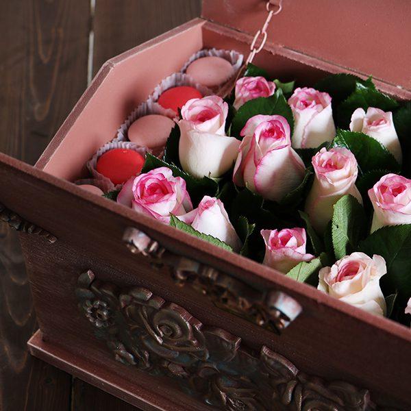 خرید باکس گل