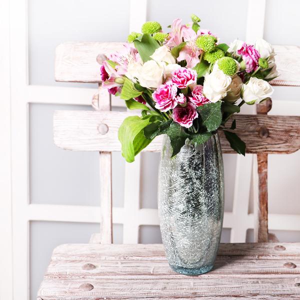 خرید گلدان ، سفارش گلدان ، گلدان شیشه ای ، گلدان رومیزی
